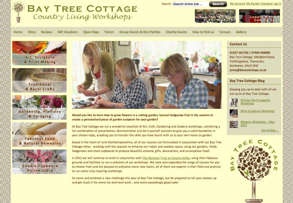 Bay Tree Cottage Workshops
